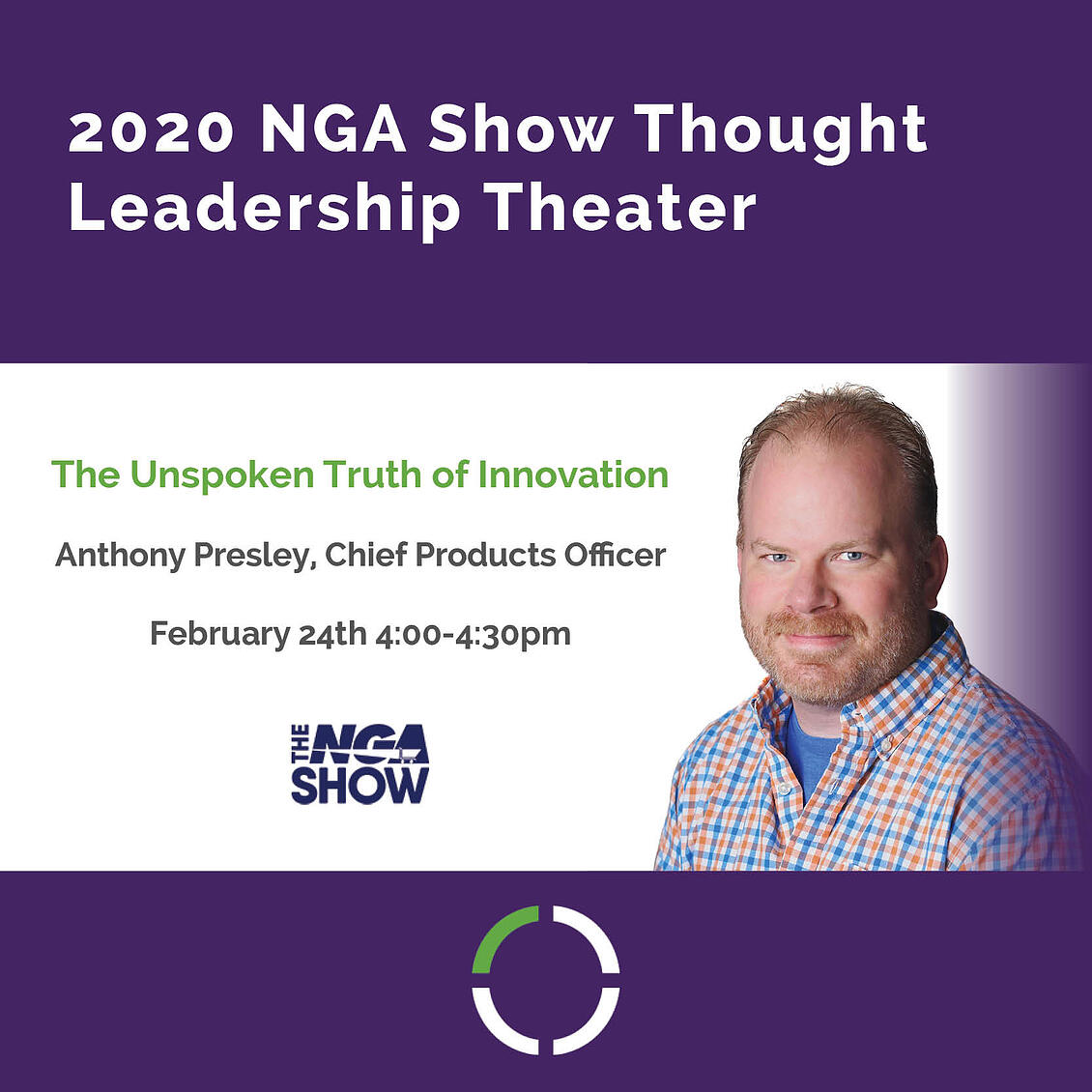 TRUNO Selected to Speak on Technology Innovation at the 2020 NGA Show