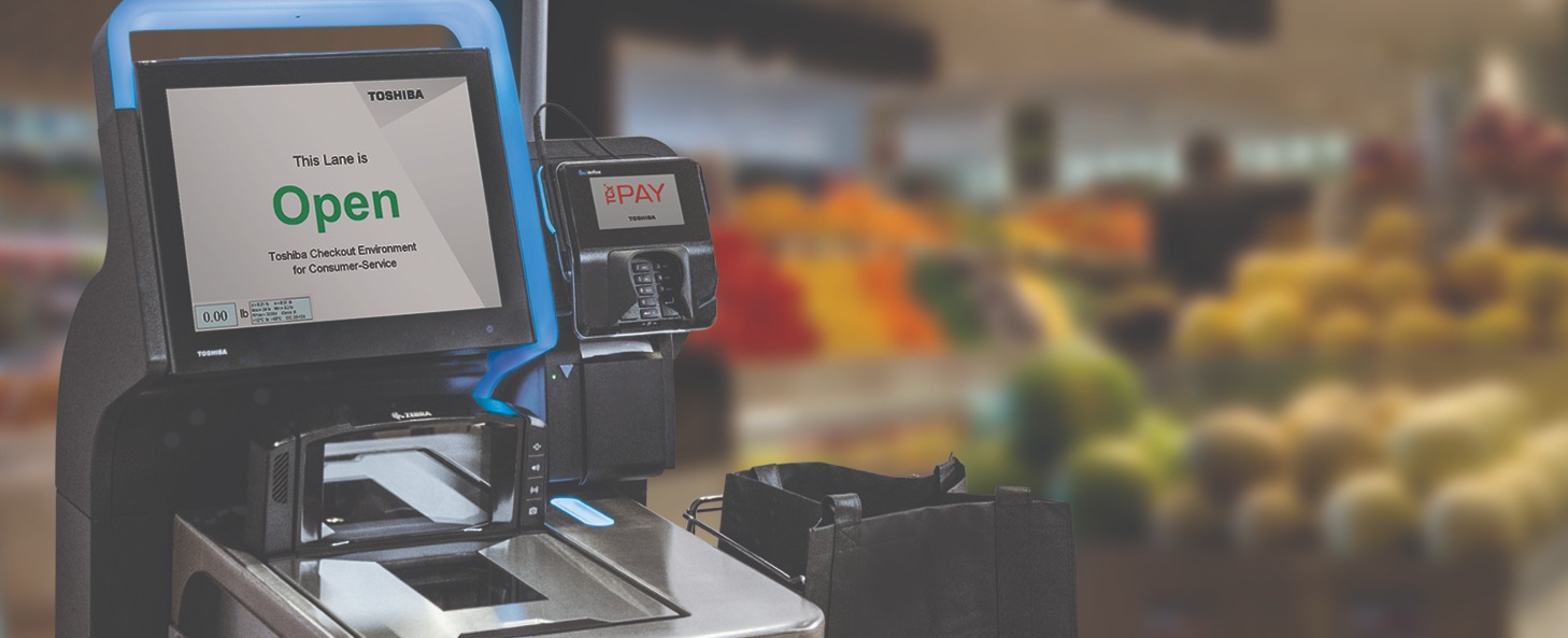 A Frictionless Retail Grocery Experience Starts with Self-Checkout