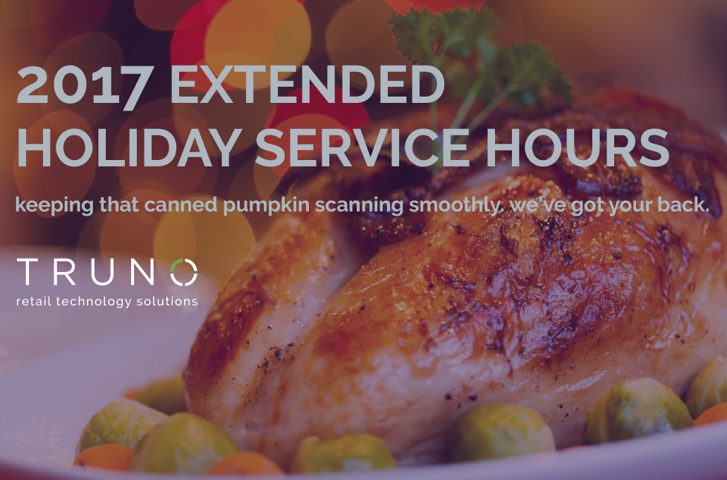 2017 Extended Holiday Service Hours